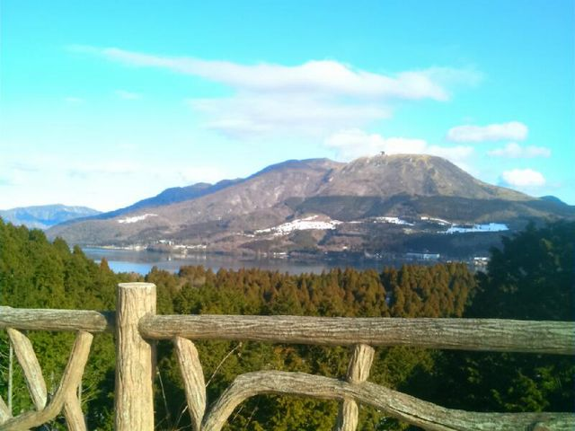 『道の駅箱根峠』からの景色。_道の駅 箱根峠