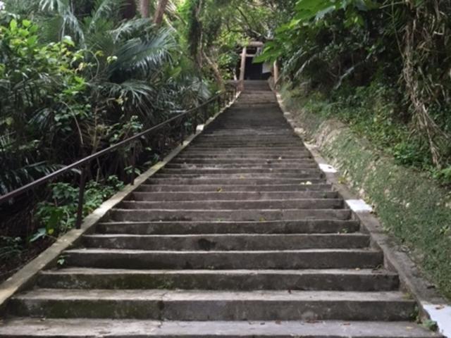 シルミチューまでの階段_シルミチュー