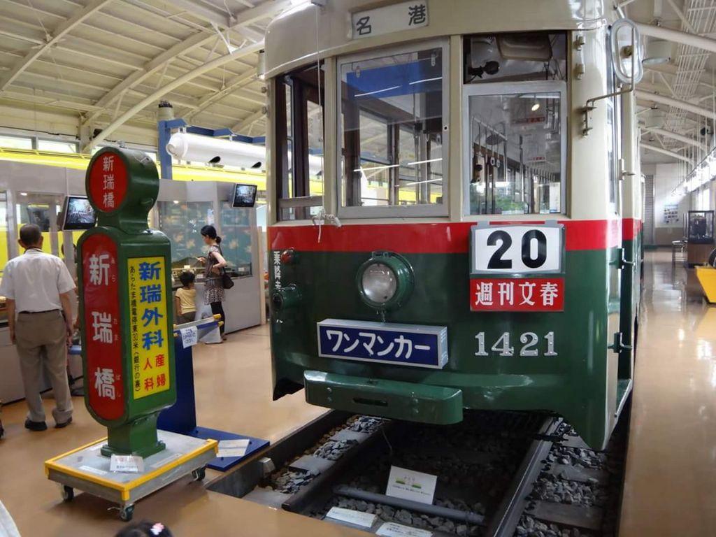 名古屋市市電・地下鉄保存館「レトロでんしゃ館」