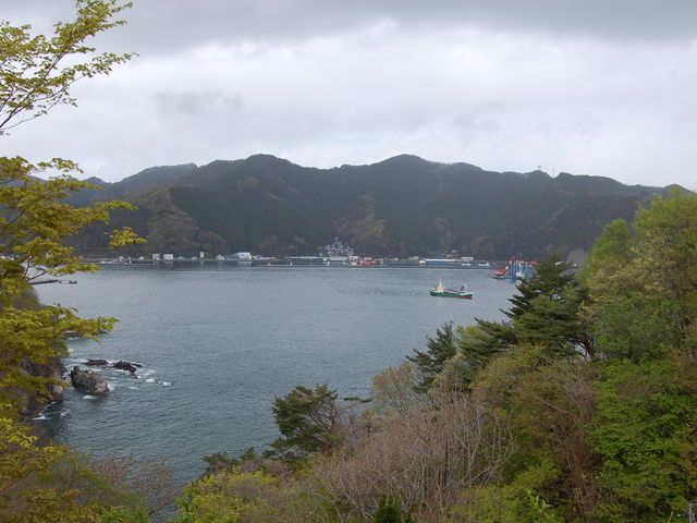 展望台からの景観_釜石大観音