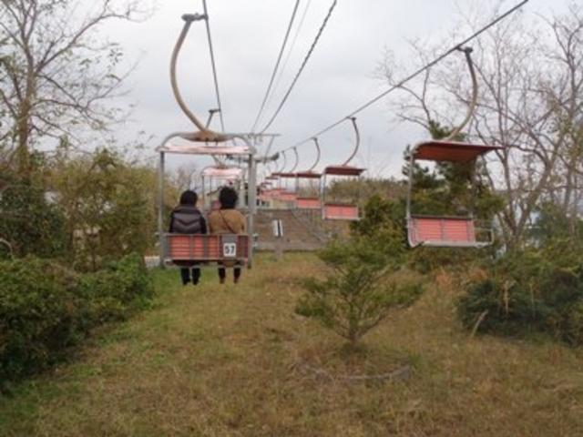 リフトは楽ちん。_鳥取砂丘リフト
