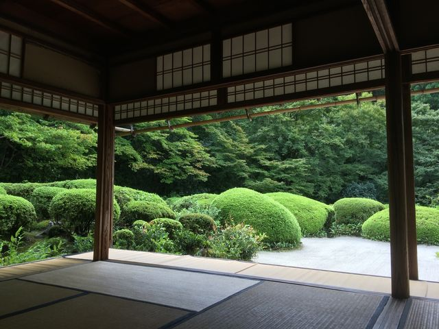 庭の写真_詩仙堂