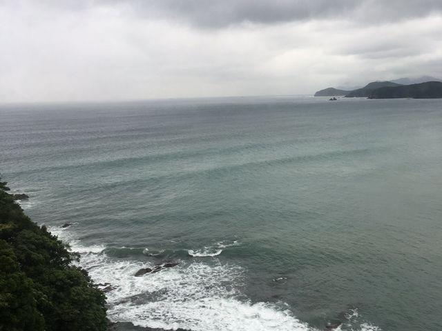 部屋から雨天_プレミアリゾート夕雅 伊勢志摩