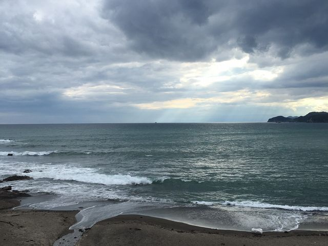 プライベートビーチから望む_プレミアリゾート夕雅 伊勢志摩