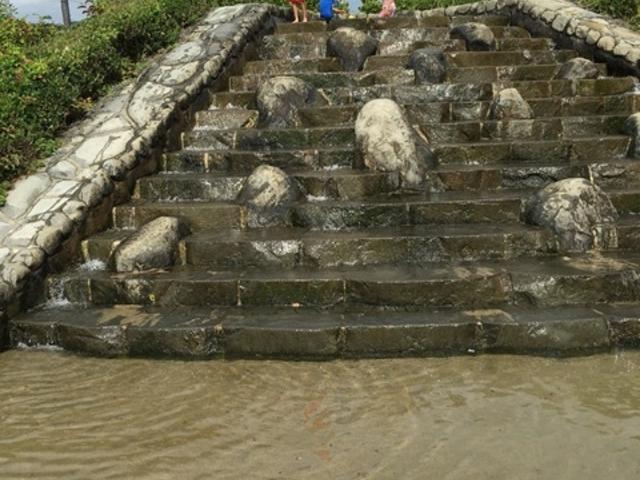 水遊び_広野海岸公園