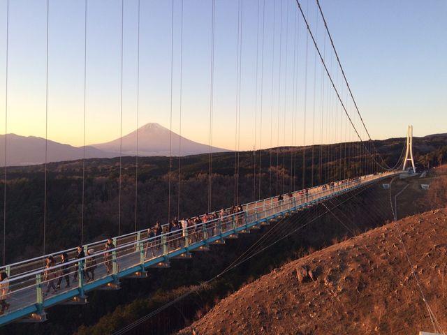 富士山が見える!_三島スカイウォーク