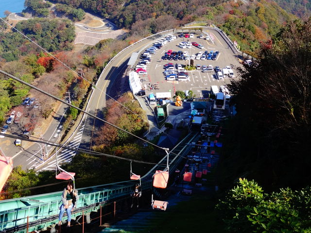 下りの風景_レインボーライン山頂公園