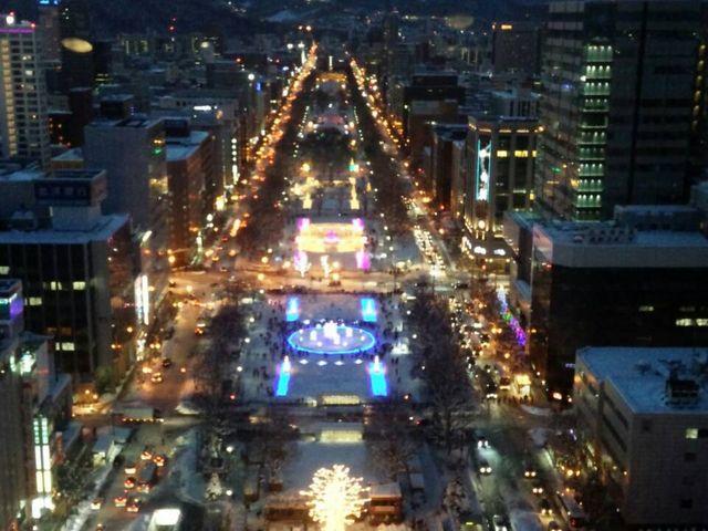 大通りの街並み_STV札幌テレビ放送