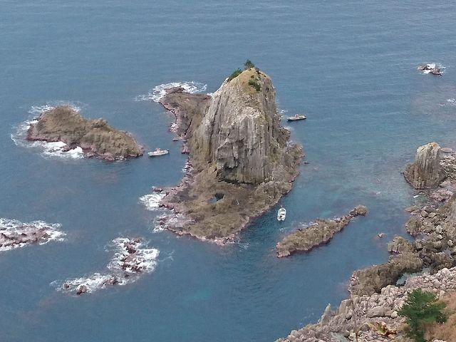 灯台からの眺め_経ヶ岬灯台