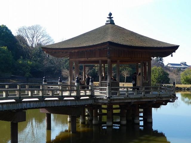 奈良県・奈良公園・浮見堂_浮見堂