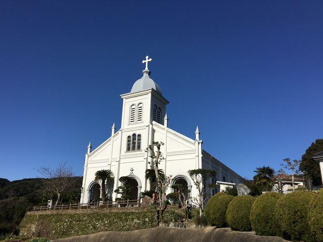 綺麗な教会です。_大江教会