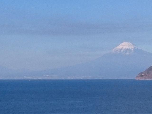 八木沢からの富士山_土肥温泉