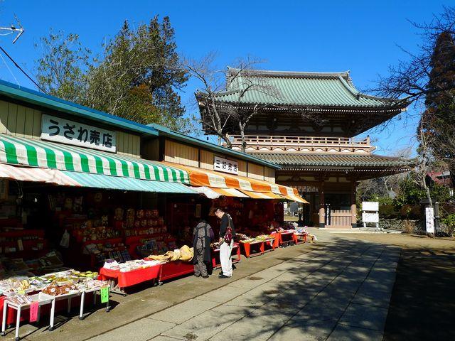 山門前の売店_東勝寺(宗吾霊堂)