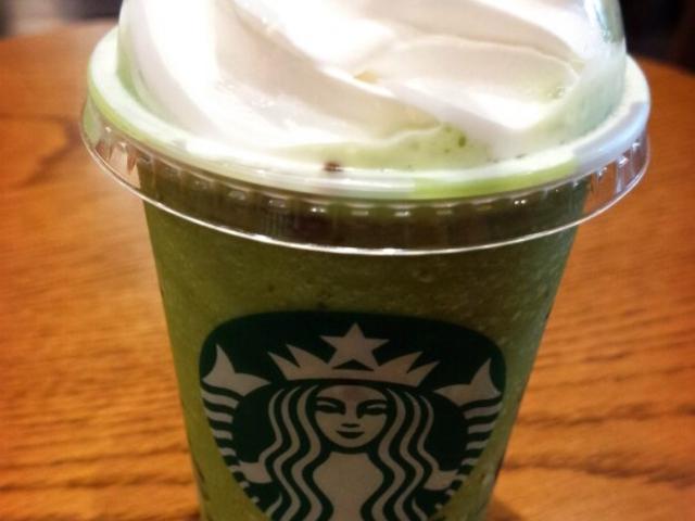 抹茶フラペチーノ_スターバックス・コーヒー 札幌ステラプレイス店