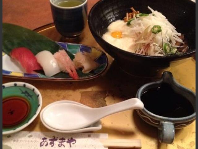 寿司_あずまや和風レストラン