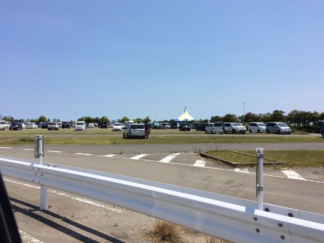広い駐車場_大洗海浜公園