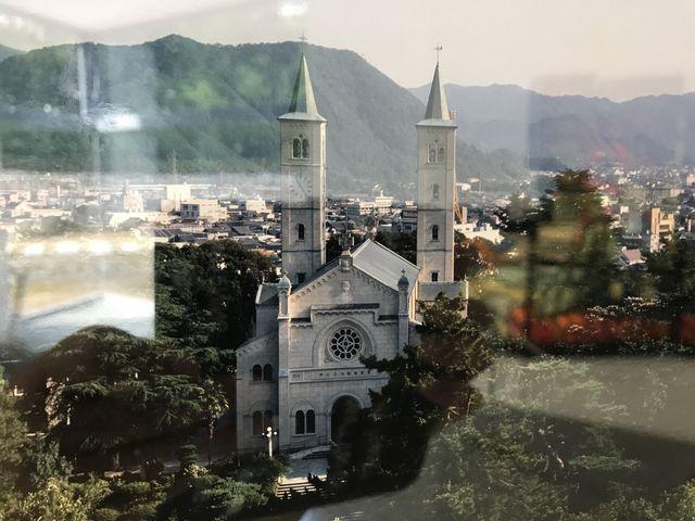 焼失した旧サビエル記念聖堂写真 _山口サビエル記念聖堂