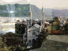 焼失した旧サビエル記念聖堂写真