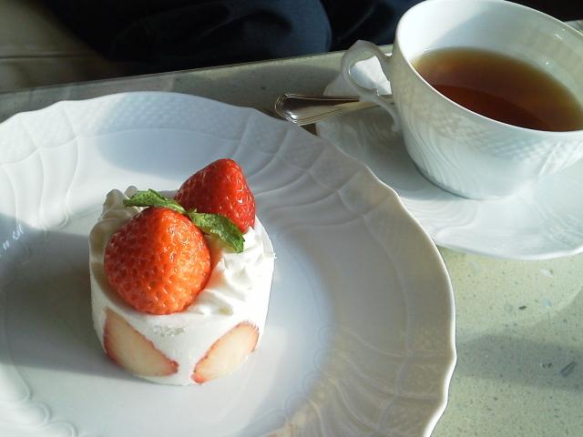 ケーキは小振りでも本格的な味わい_マロード