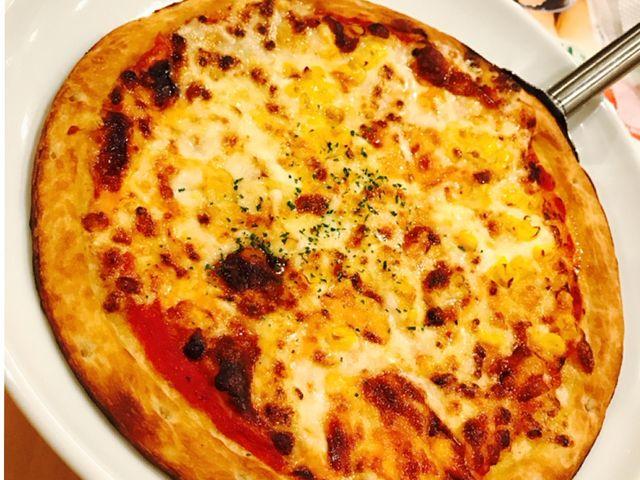 ピザ美味しかった_ガスト 鬼怒川店