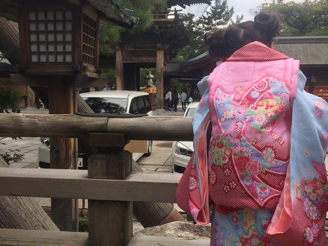 家族写真もとってもらいました_新潟総鎮守 白山神社