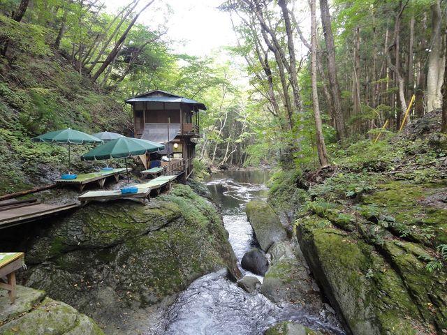 小太郎茶屋。古いですが風情があります。_小太郎が淵