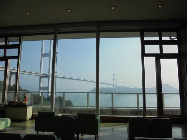 ロビーからの眺め。_サンライズ糸山(サイクリングターミナル)