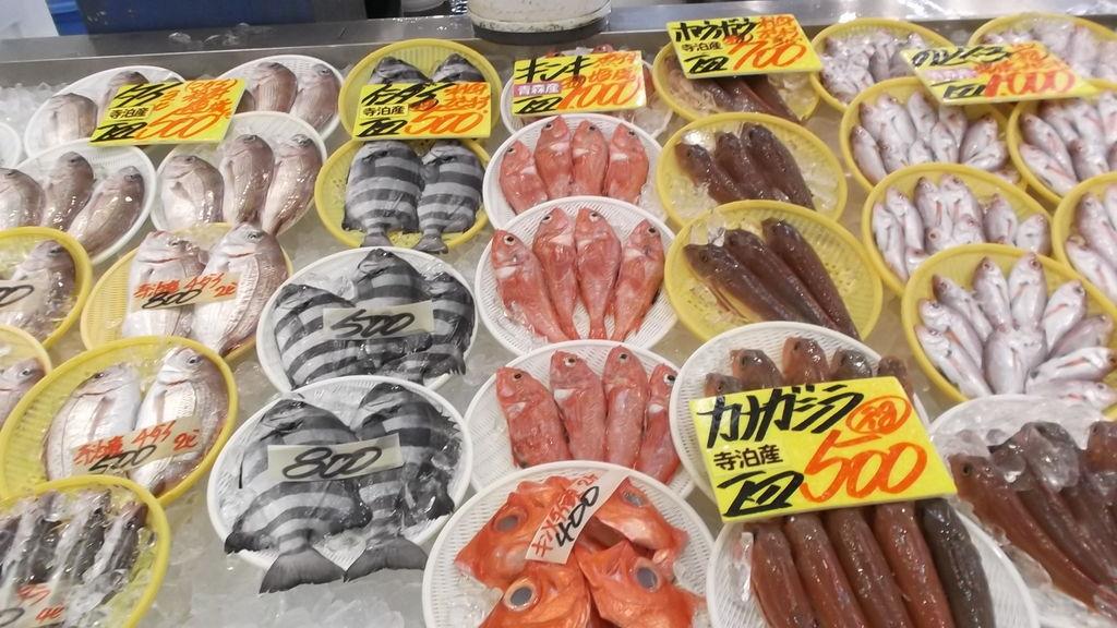魚の市場通り