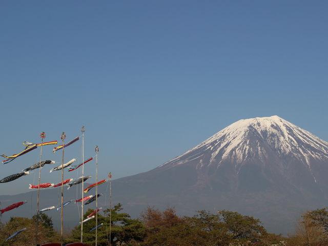 富士山がきれいに見えます_ドライブインもちや