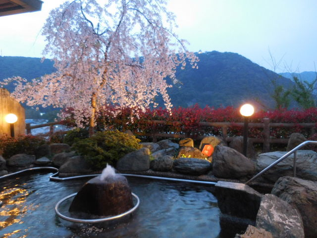 露天風呂_岩国国際観光ホテル