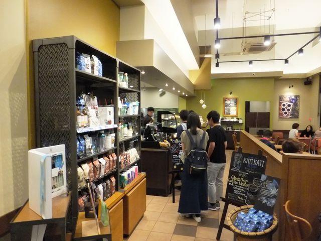 入口から店内を見たところ_スターバックスコーヒー大和高田店