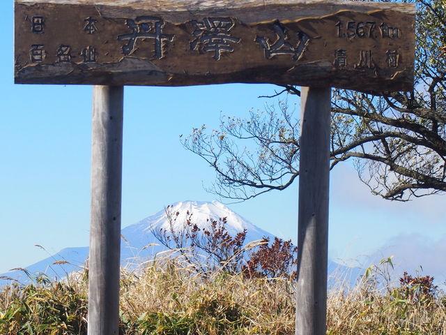 頂上からの眺め_丹沢山