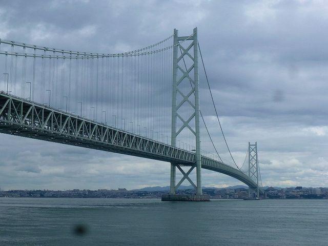 世界最長の吊り橋・明石海峡大橋_道の駅 あわじ