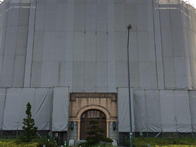 工事中_横浜税関本関庁舎