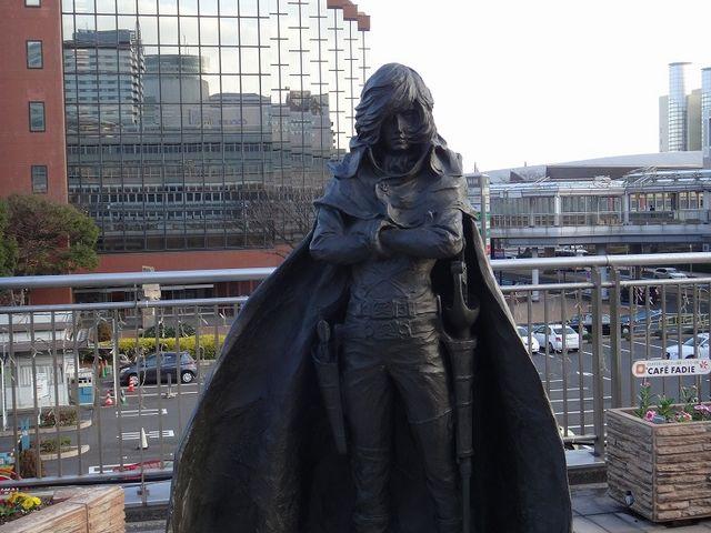 キャプテンハーロック。_JR小倉駅