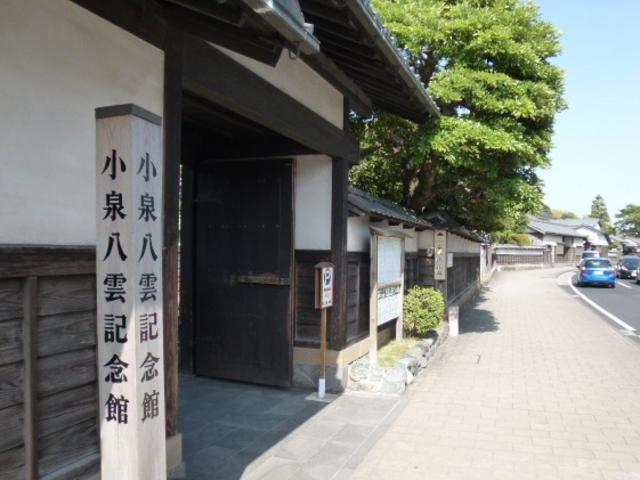 雰囲気の良い場所です_小泉八雲記念館