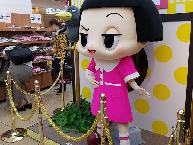 ちこちゃんグッズのイベント_東京キャラクターストリート