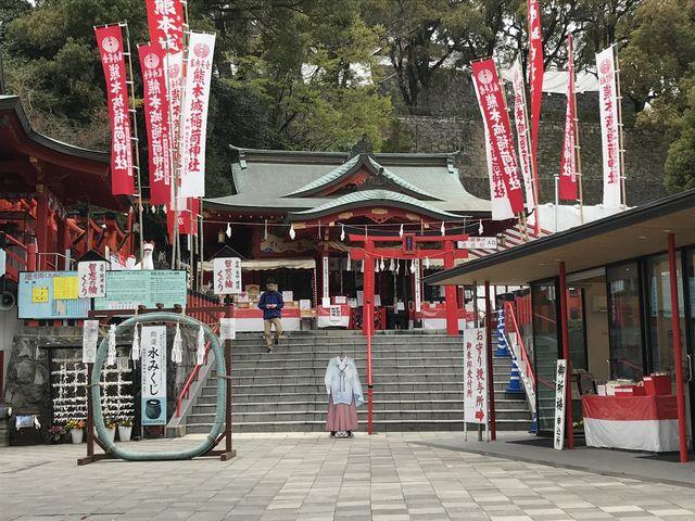 熊本城を訪れたらぜひ一緒にご参拝ください_熊本城稲荷神社
