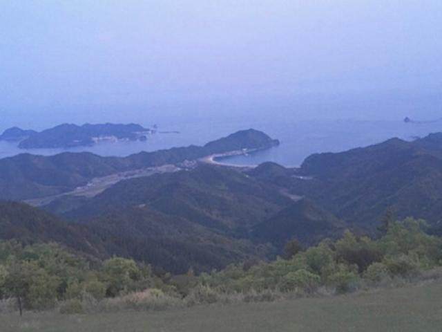 頂上から_鏡山