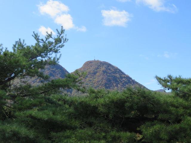 展望台から_二ツ岳