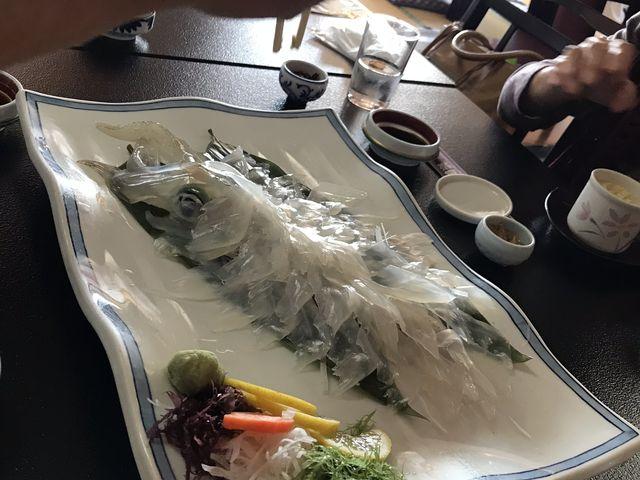 お刺身の切り方が 食べやすいように調理されていてお年寄りも食べやすかったです。_いか道楽