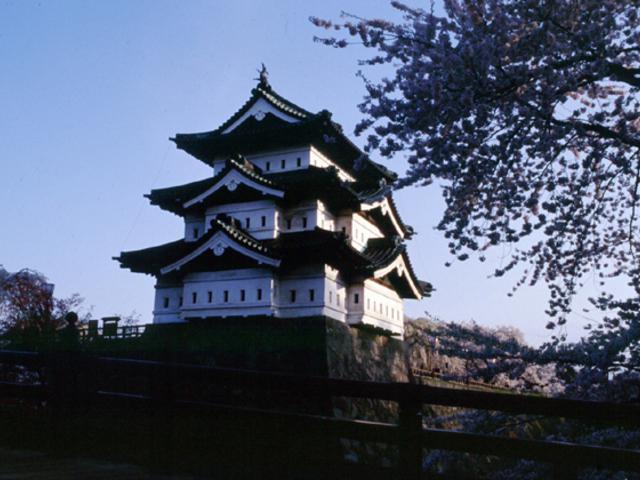 弘前城天守_弘前公園