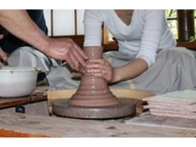 陶芸体験・・・いつでも簡単に予約なしで体験できます。_霧島高原まほろばの里