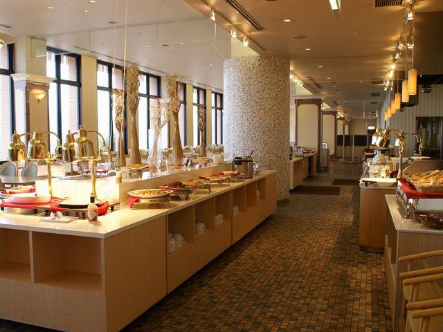 バイキングレストラン「グランデセキア」店内_ホテルセキア