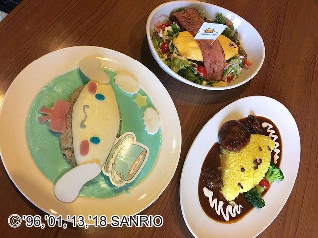 レストラン「ハーベストテーブル」では、SNS映えする「キャラクターメニュー」が楽しめる。_サンリオキャラクターパーク ハーモニーランド