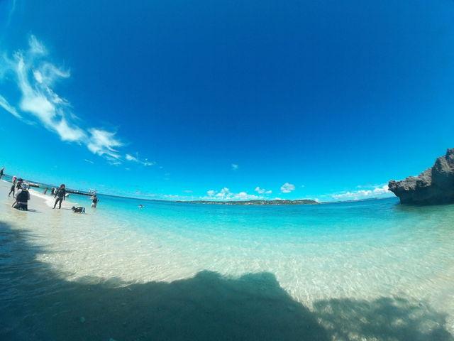 コマカ島ビーチ_知念海洋レジャーセンター