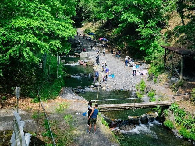 峰谷川渓流釣場