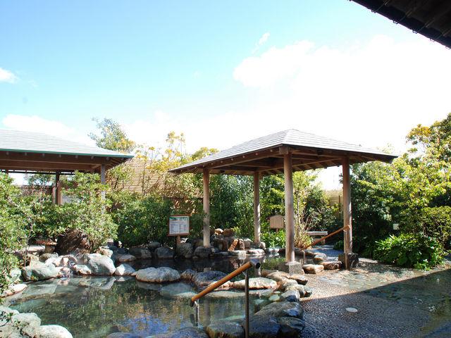 庭園露天風呂 (男湯)_スパ&リゾート九十九里 太陽の里
