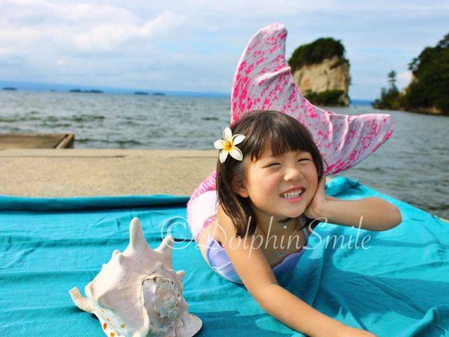 マーメイドPHTO _Dolphin Smile
