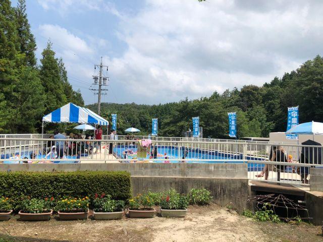付近で一番大きい自慢のプールです!_遊覧農場 ヤマナカ果園